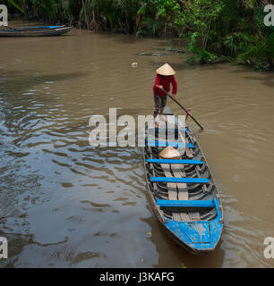 tourists on river boat - Stock Image