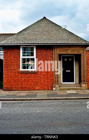Ex Court House Redcar, Cleveland, England - Stock Image