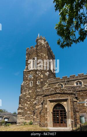 St John The Baptist Church, Flitton, Bedfordshire, UK - Stock Image