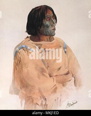Blackfoot Chief - Stock Image