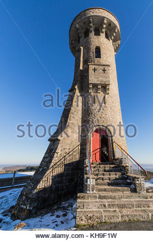 Observation Tower at Toolx-Sainte-Croix, France - Stock Image