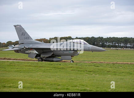 Aircraft participating in the 2017 Joint Warrior NATO excise in Scotland. - Stock Image