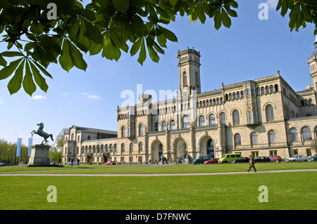 Germany, Lower Saxony, Hannover, Herrenhausen, university - Stock Image