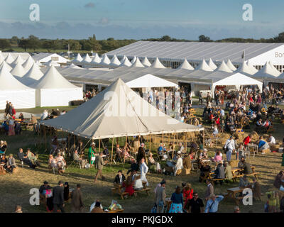 Goodwood Revival, Chichester, West Sussex, England - Stock Image