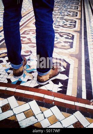 Wet Feet - Stock Image