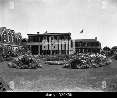 A View of the Meadow Club, Southampton, NY, 1941 - Stock Image