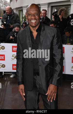 London, UK. 12th Mar, 2019. LONDON, UK. March 12, 2019: Shaun Wallace arriving for the TRIC Awards 2019 at the Grosvenor House Hotel, London. Picture: Steve Vas/Featureflash Credit: Paul Smith/Alamy Live News - Stock Image