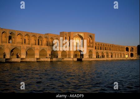 Iran Esfahan Pol e Khajula Bridge - Stock Image