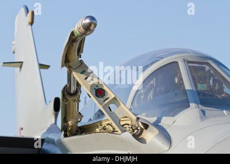 RAF Tornado extended external refueling intake detail - Stock Image
