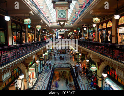 Famous Queen Victoria city mall in Sydney, Australia - Stock Image