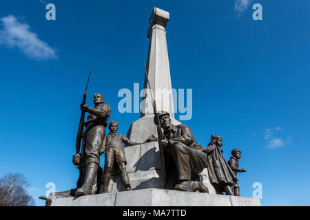 historic war memorial port sunlight wirral merseyside north west england uk - Stock Image