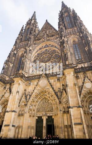 Czech Republic, Prague. St. Vitus Cathedral at Prague Castle. Credit as: Wendy Kaveney / Jaynes Gallery / DanitaDelimont.com - Stock Image