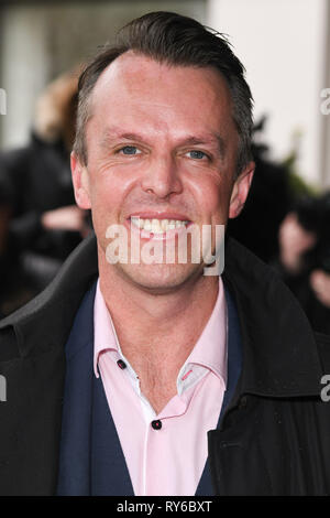 London, UK. 12th Mar, 2019. LONDON, UK. March 12, 2019: Graeme Swann arriving for the TRIC Awards 2019 at the Grosvenor House Hotel, London. Picture: Steve Vas/Featureflash Credit: Paul Smith/Alamy Live News - Stock Image