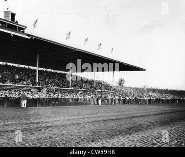 Hialeah Racetrack, Florida, 1940 - Stock Image