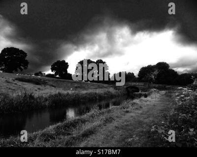 Grey day. - Stock Image