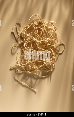 Tangled Ball of String - Stock Image