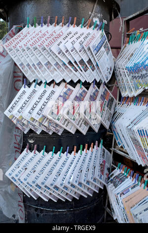 News Stand Mexico City - Stock Image