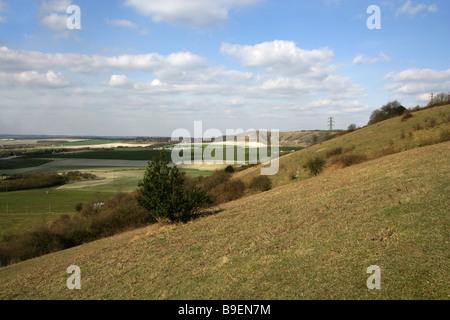Dunstable Downs, Bedfordshire, UK - Stock Image
