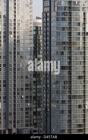 High-rise living, Vancouver, BC, Canada - Stock Image