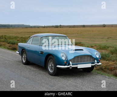 1965 Aston Martin DB5 GT Vantage 2 door 4 0 litre inline 6 DOHC engine producing 325bhp Country of origin United - Stock Image
