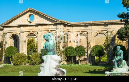 Holkham hall Stately home Orangery in North Norfolk, East Anglia, England, UK - Stock Image