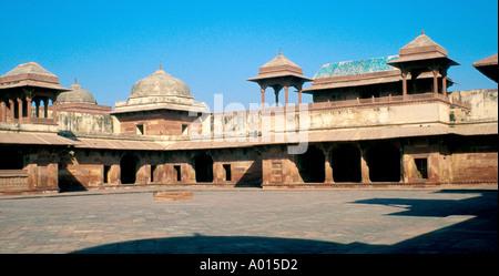 Fatehpur Sikri the Famed Dead City of Akbar in Uttar Pradesh, India - Stock Image