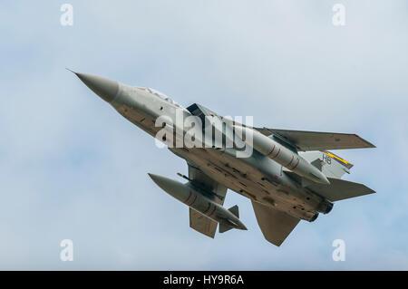 RAF Tornado F3 111 Sqn - Stock Image