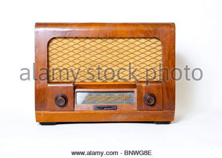Sobell 511 Valve Radio - Stock Image