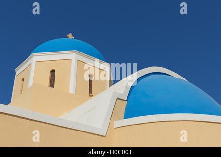 Church of St. George. Santorini. - Stock Image