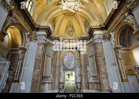 deconsecrated church of santa marta al collegio romano (17th century), rome, italy - Stock Image