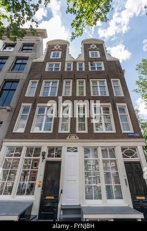 Amsterdam Herengracht twin house from 1664 Amsterdam, Netherlands - Stock Image
