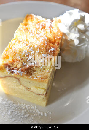 Bread pudding - Stock Image