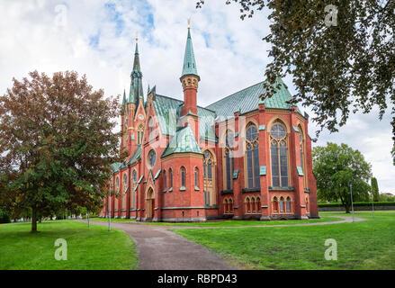 Gothic Matthew's church (Matteuskyrkan) in Norrkoping, Sweden - Stock Image