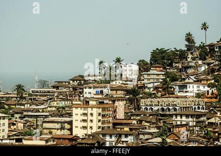 Freetown, Sierra Leone - Stock Image