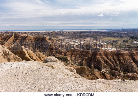 South Dakota Badlands - Stock Image