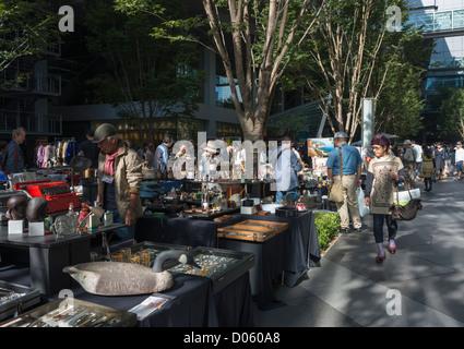 Oedo Tokyo Antique Market held at the Tokyo International Forum Japan - Stock Image