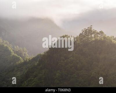 Landscape on the Madeira Island, Portugal. - Stock Image