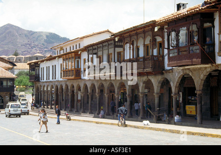Plaza de Armas, Cusco, Peru - Stock Image