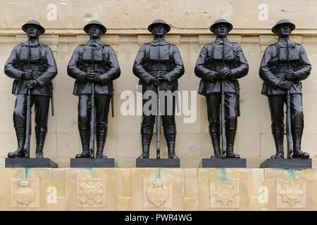 The Guards Memorial, St James Park, Horse Guards Parade, London, United Kingdom - Stock Image