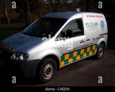 Veterinary Ambulance - Stock Image