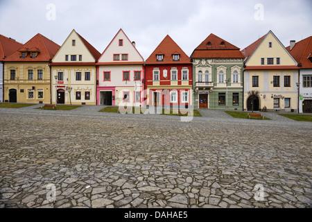 Bardejov city centre - Stock Image