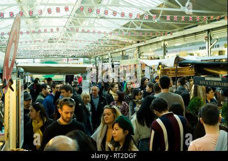 Greenwich Market, Greenwich, London, UK - Stock Image