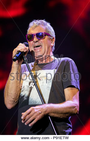 Aix-les-Bains, France, 13 July 2018. Deep Purple performing live at Musilac festival in Aix-les-Bains (France) - 13 July 2018 Credit: Olivier Parent/Alamy Live News - Stock Image
