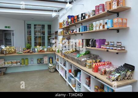 Inside the East Coast Store, Aldeburgh, Suffolk, UK - Stock Image