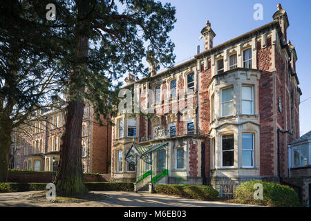 The Lord Mayor's Mansion House, Clifton, Bristol, official residence of the Lord Mayor, formerly a private house - Stock Image