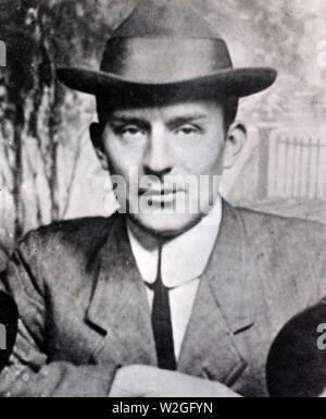 German propaganda in Mexico. Kurt A. Jahnke ca. 1917-1921 - Stock Image