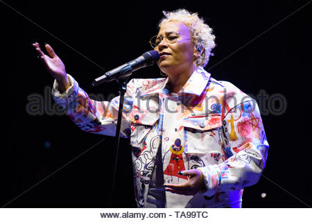 File photo dated 15/04/18 of Emeli Sande, who will hand academic honours to her own parents after being named chancellor at the University of Sunderland. - Stock Image