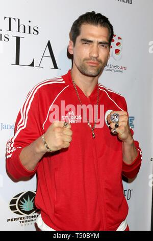 Los Angeles, CA, USA. 18th Apr, 2019. Derek Zugic at arrivals for THIS IS L.A. Premiere Party, Yamashiro Hollywood, Los Angeles, CA April 18, 2019. Credit: Priscilla Grant/Everett Collection/Alamy Live News - Stock Image