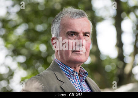 Broadcaster and author Trevor Royle. - Stock Image