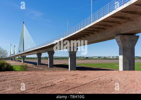Halton Gateway bridge. Officially opened Saturday 14th October 2017. - Stock Image